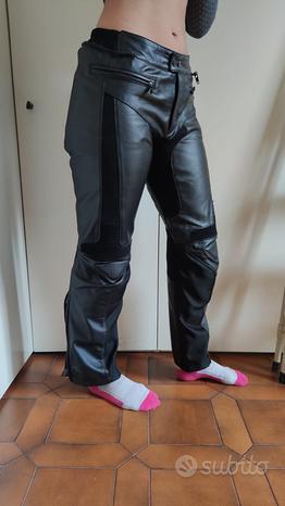 Pantaloni Pelle Tuta Moto Spidi Donna