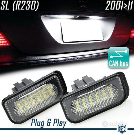 Placche Luci Targa LED Canbus Mercedes C SL CLK E
