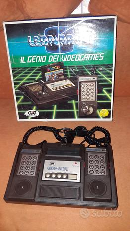 Console giochi LEONARDO GIG RARA videogiochi game