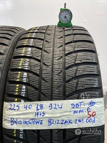 Bridgestone blizzak 225 40 18