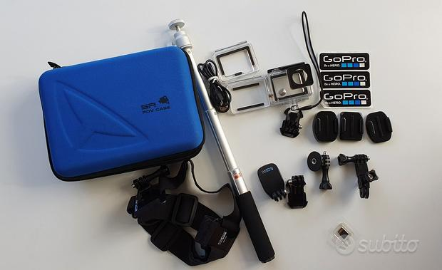 GoPro 4 4K Silver e accessori