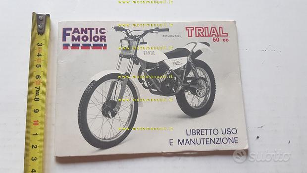 Fantic Motor Trial 50 1980 manuale uso originale