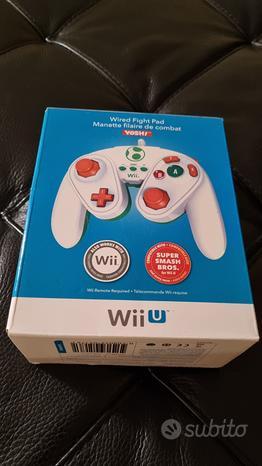 WiiU - Wired Fight Pad - Yoshi