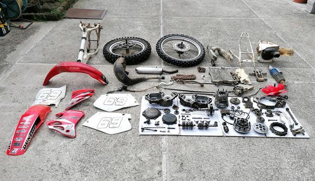 Ricambi Honda Cr 250 1992-1996