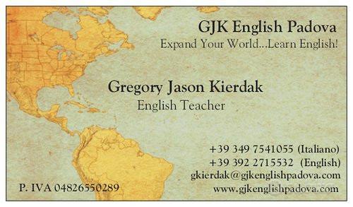 Insegnante Madrelingua Inglese-Americano
