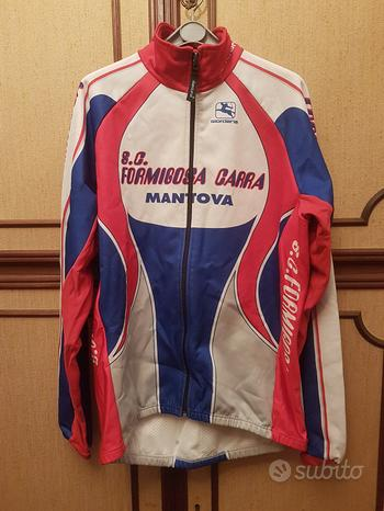 Ciclismo invernale Giordana giacca maglia guanti