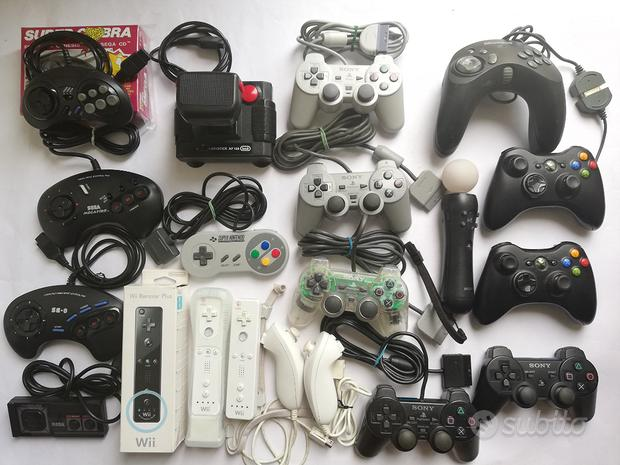 Controller Control Pad Ps1 Ps2 Ps3 Xbox 360 Wii