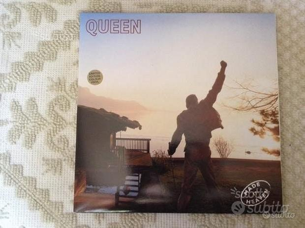 QUEEN LP Made in heaven vinile bianco '95 ed.lim