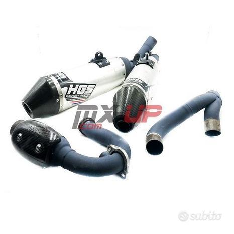 Marmitta completa HGS per Honda CRF 450 R/RX 17-20
