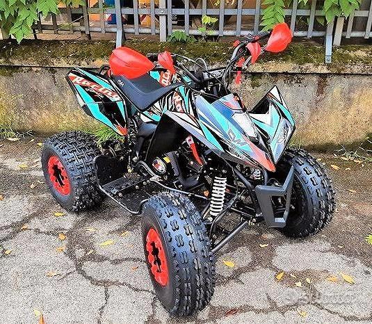 NUOVO QUAD 125cc R8 SNIPER SPORTIVO