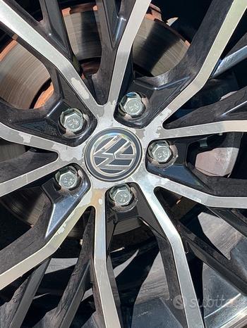 Cerchi replica polo gti 5x100 et 35 diametro 17
