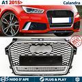 CALANDRA Audi A1 8X 2015> Griglia Nera NIDO D' APE