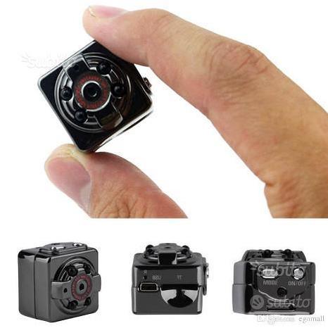 Telecamera spia microcamera infrarossi full hd