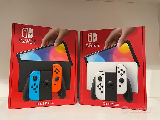 Nintendo Switch OLED disponibile