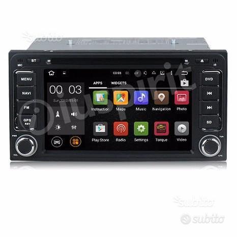 ANDROID GPS DVD 2 DIN autoradio navigatore Toyota