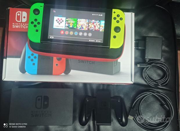 Nintendo switch tanti giochi garanzia