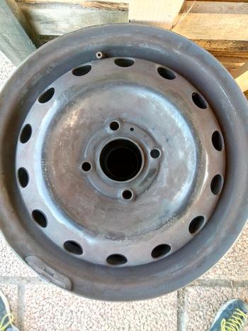 Cerchio cerchioni ferro ruote auto 4 fori