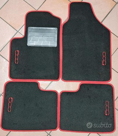 Set 4 tappetini nuovi per Fiat 5oo da 2007 al 2020