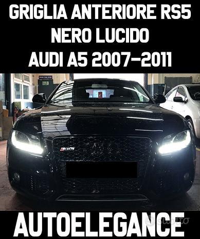 Audi a5 2007-2011 griglia nido d'ape rs5 lucido