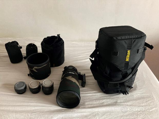 Obiettivo Nikkor 300mm F2.8 Nikon F mount VR + TC