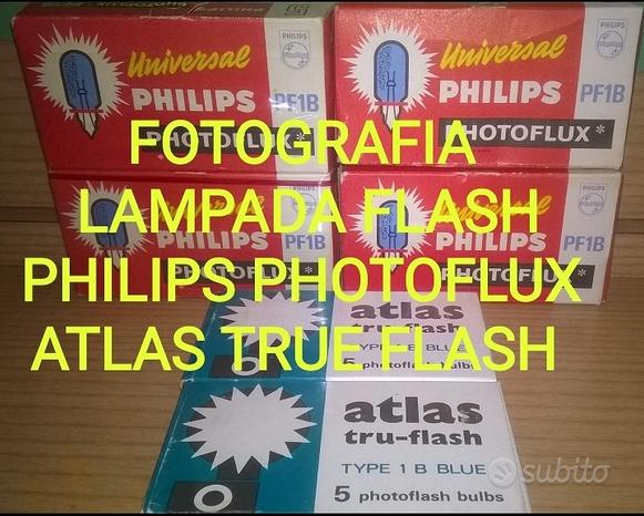 Lampade Flash FOTOCAMERA Analogica PHOTOFLUX PF1B
