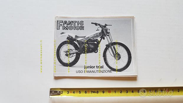 Fantic Motor Trial 50 Junior 1987 manuale uso
