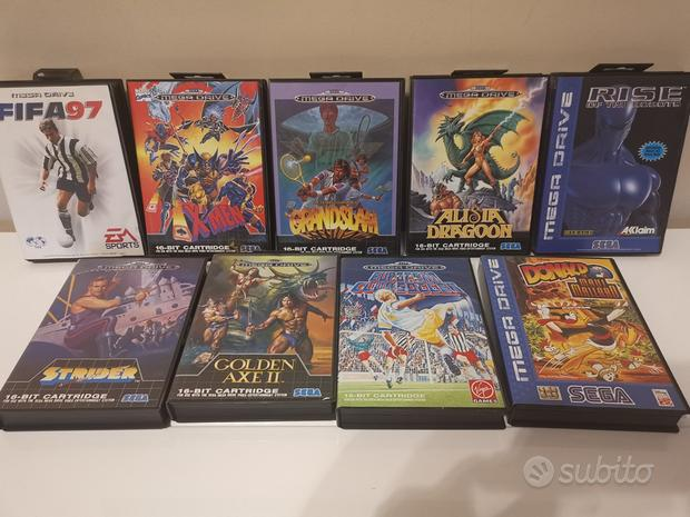 Lotto cartucce Sega Mega Drive (Sega Genesis)