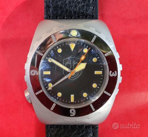 Orologio automatico vintage vdb gmt