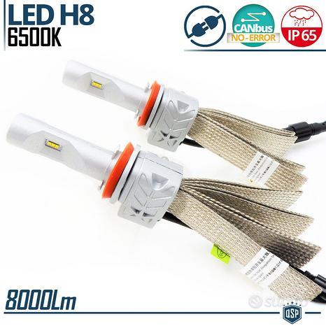 KIT Lampade FULL LED H8 Trasformazione Luci Auto