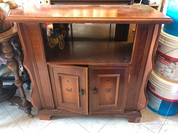 Mobile porta tv vintage in legno
