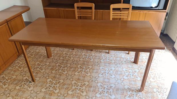 Tavolo soggiorno 182x83 cm