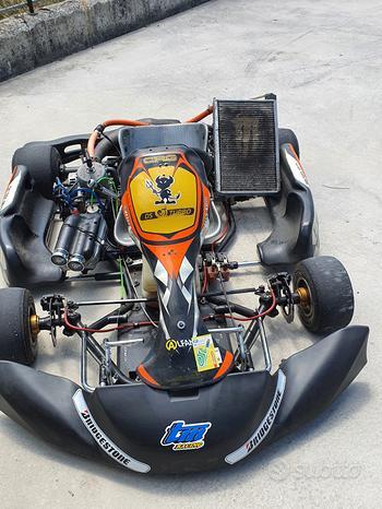 Go kart 125cc motore K9B elaborato