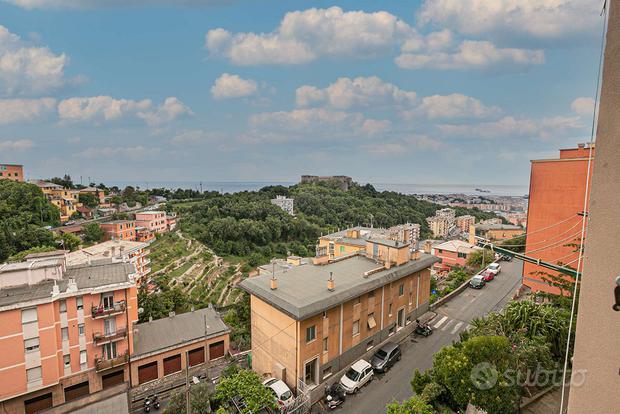 Appartamento con balcone vista panoramica