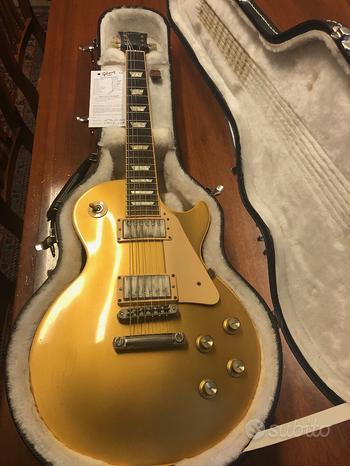Gibson les paul standard goldtop 2008