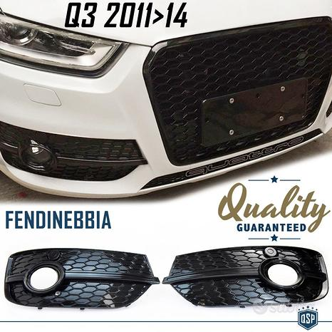 Griglie FENDINEBBIA Paraurti AUDI Q3 RSQ3 U8 11>14