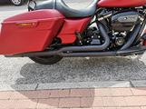 Scarico Vance and hines (V&H) pro pipe nero Harley