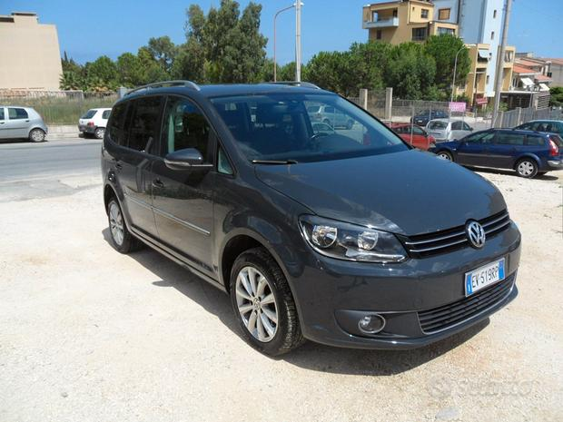Volkswagen touran 1.4 cc 150 cv high dsg ecofuel