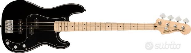 Fender Squier AFF P BASS PJ MN BPG BLK