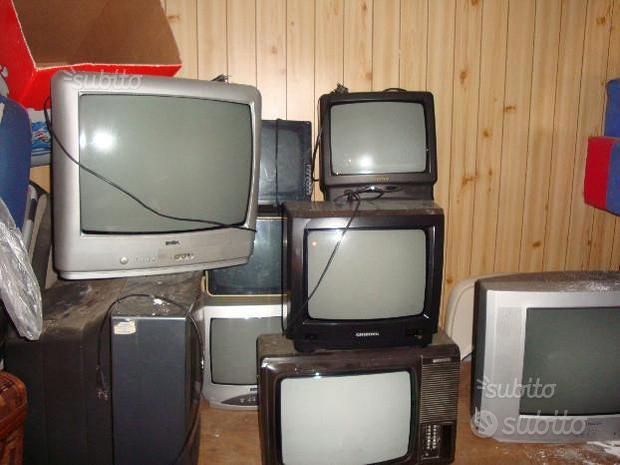 Tv Televisori Color-B/N Vintage Multi Marca/Misure