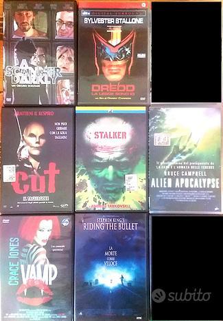 Lotto 7 Film Dvd Fantascienza Horror