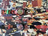 Swatch art limited edition mimmo rotella