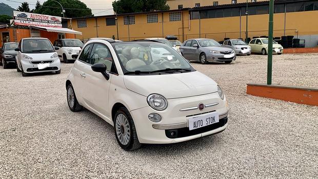 Fiat 500c 1.2 benzina garanzia 12 mesi