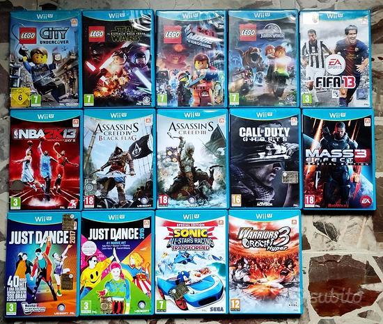 Vari giochi Wii U ORIGINALI ed accessori