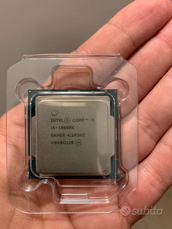 Cpu processore intel i5 10600k in garanzia