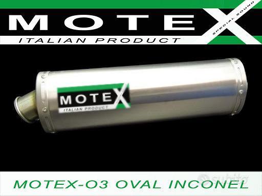 HONDA XR 600 650 CBR R A Terminale omologato MOTEX