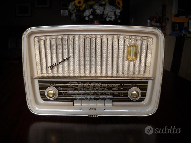 Radio epoca valvole aeg/telefunken bimby