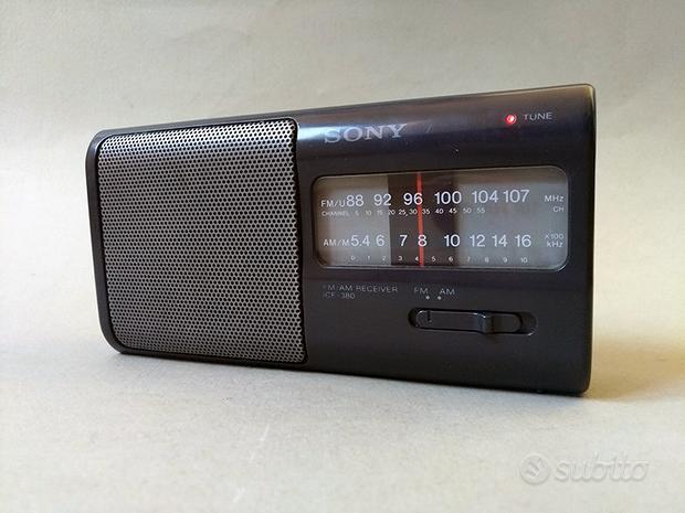 Radio Sony ICF 380