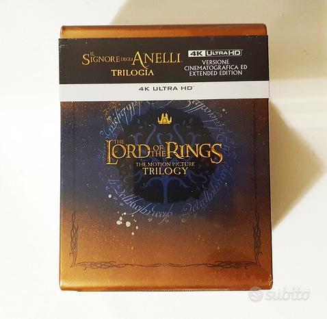 Il signore degli anelli trilogia 4k steelbook