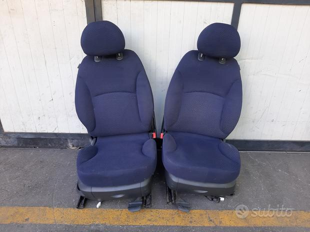 Sedili anteriori Fiat Stilo 2003 5 porte blu