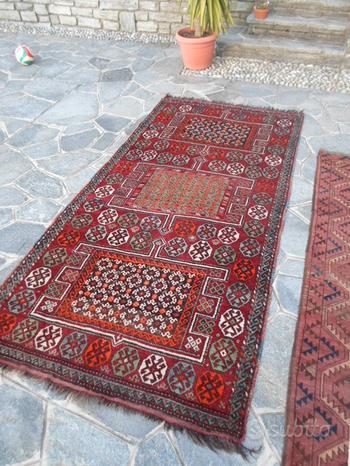 Tappeto persiano Curdo-KUCHAN antico